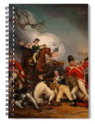 The Death Of General Mercer At The Bottle Of Princeton Spiral Notebook