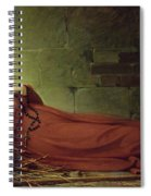 The Death Of Germaine Cousin The Virgin Of Pibrac Spiral Notebook