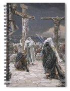 The Death Of Jesus Spiral Notebook