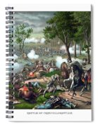 The Death Of Stonewall Jackson Spiral Notebook