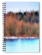 The Deep Forbidden Lake Spiral Notebook