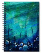 The Deep Places Spiral Notebook