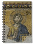 The Dees Mosaic In Hagia Sophia Spiral Notebook