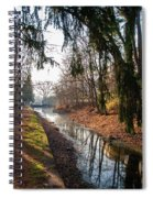 The Delaware Canal In New Hope Pa Spiral Notebook