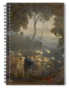 The Dell Of Comus Spiral Notebook
