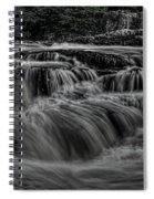 The Dells Of The Eau Claire Panoramic Spiral Notebook