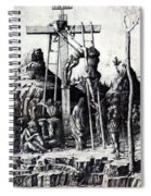 The Descent From The Cross 1475 Spiral Notebook
