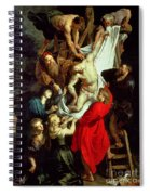 The Descent From The Cross Spiral Notebook