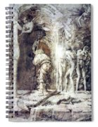 The Descent Into Hell 1468 Spiral Notebook