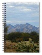 The Desert Landscape Spiral Notebook