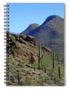 The Desert Mountains Spiral Notebook