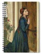 The Devout Childhood Of Saint Elizabeth Of Hungary, 1852 Spiral Notebook