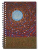 The Difficulty Of Crossing A Field Original Painting Spiral Notebook