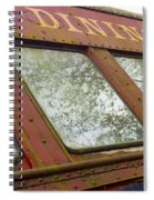 The Dining Car Spiral Notebook