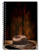 The Dirty Brown Hat Spiral Notebook