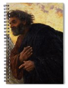 The Disciples Peter And John Running To The Sepulchre On The Morning Of The Resurrection Spiral Notebook