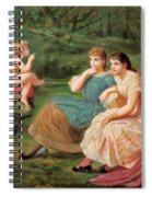 The Discourse Of Love Spiral Notebook