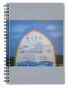 The Divine Name Spiral Notebook
