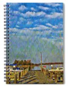 The Dock Of The Bay Spiral Notebook