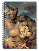The Dodo, 1651  Spiral Notebook