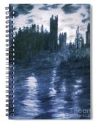 The Dolceacque Castle In Pencil Spiral Notebook