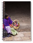 The Doll Peddler Spiral Notebook