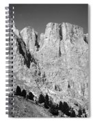 The Dolomites Spiral Notebook