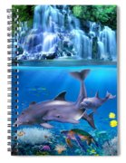 The Dolphin Family Spiral Notebook