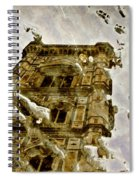 The Dome In The Puddle Spiral Notebook