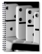 The Domino Effect Spiral Notebook