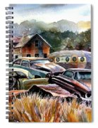 The Donor Cars Spiral Notebook