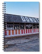 The Donut Shop No Longer 2, Niceville, Florida Spiral Notebook