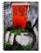 The Door Below Spiral Notebook