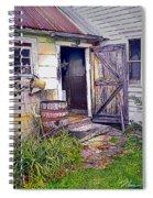 The Door Is Always Open Spiral Notebook