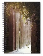 The Doorway Spiral Notebook