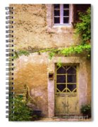 The Doorway To Provence Spiral Notebook