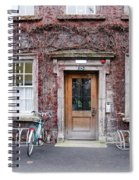 The Dorms At Trinity College Dublin Ireland Spiral Notebook