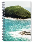 The Doughboys Island Landscape Spiral Notebook