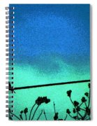The Dove Above 2 Spiral Notebook