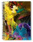 The Dragon Nursery Under The Apple Tree Spiral Notebook