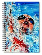 The Dream Becomes Reality Spiral Notebook