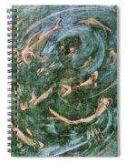 The Dream Of The Fish 1 By Walter Gramatte Spiral Notebook