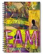 The Dream Trio Spiral Notebook