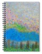 The Dreamy Pond Spiral Notebook