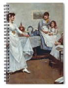 The Dress Rehearsal Spiral Notebook