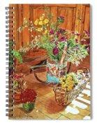 The Dried Flower Shop Spiral Notebook