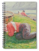 The Drummer Boy's Dream Spiral Notebook