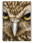 The Dubious Owl Spiral Notebook