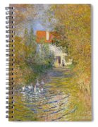 The Duck Pond Spiral Notebook