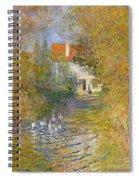 The Duck Pond Spiral Notebook